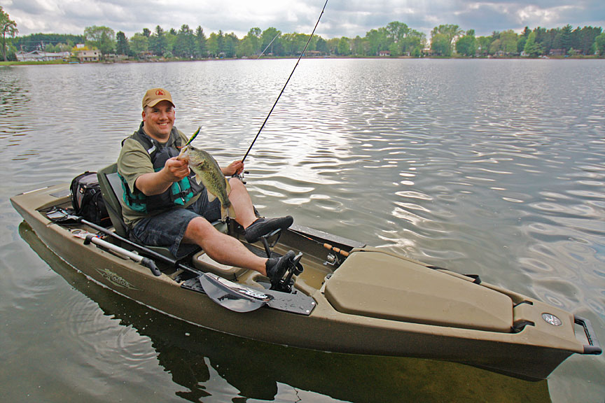 Hobie proangler bass ron hustvedt hi tempo hobie kayaks blog for Bass pro fishing kayak