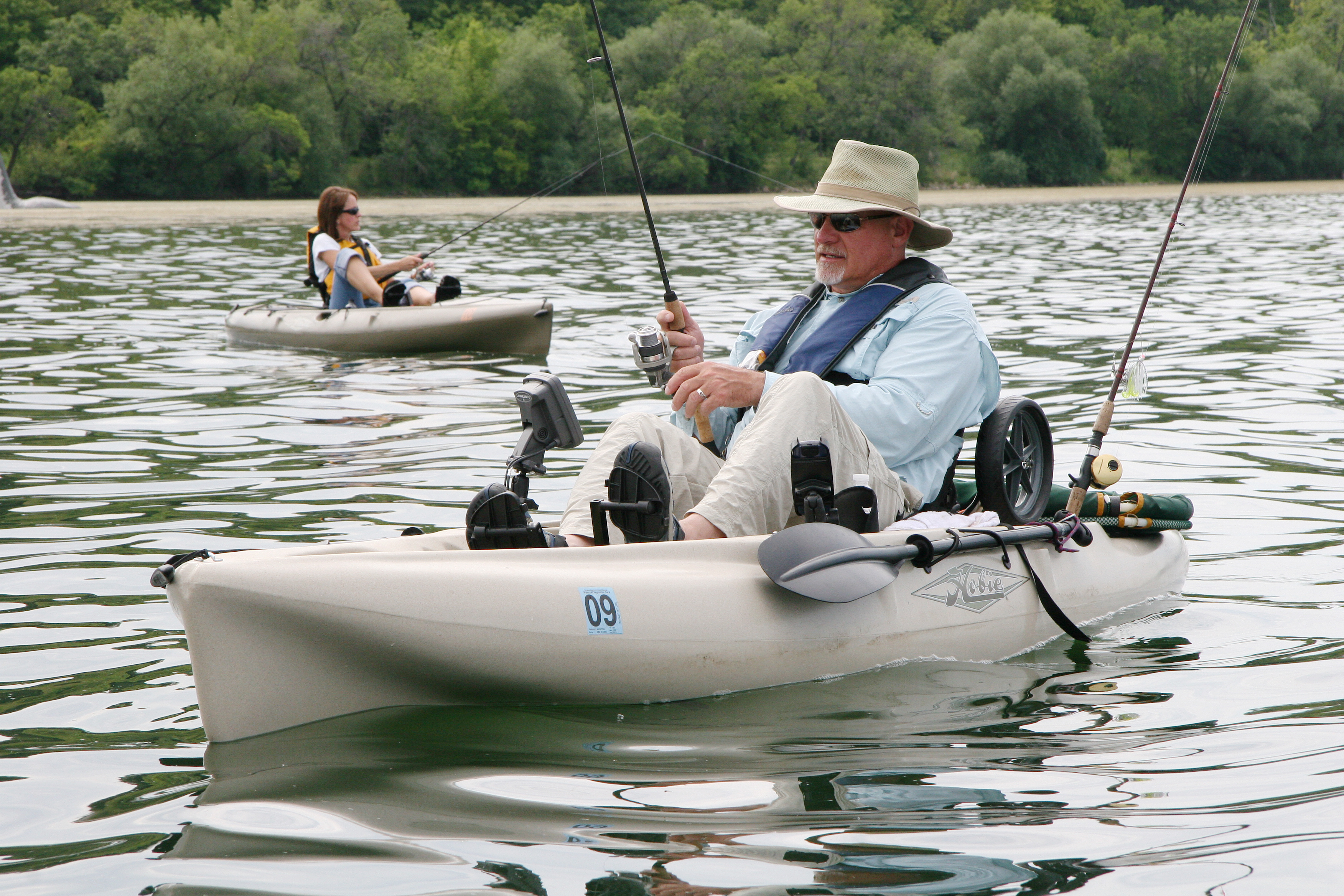 how to fish out of a kayak
